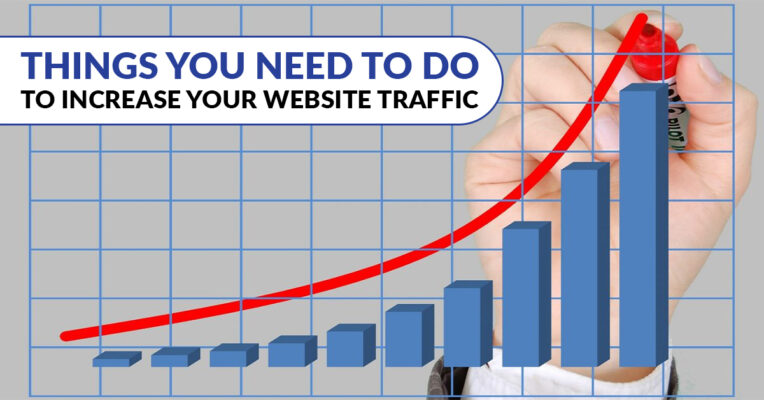 Things you need to do to increase your website traffic