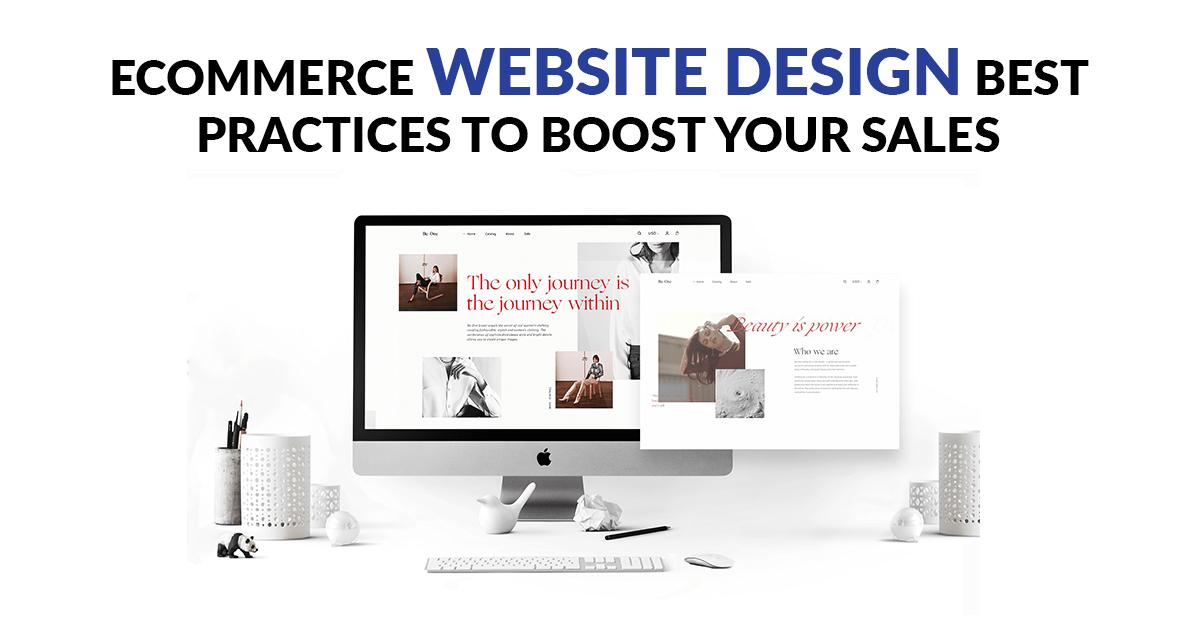 ecommerce Website Design Best Practices to Boost Your Sales